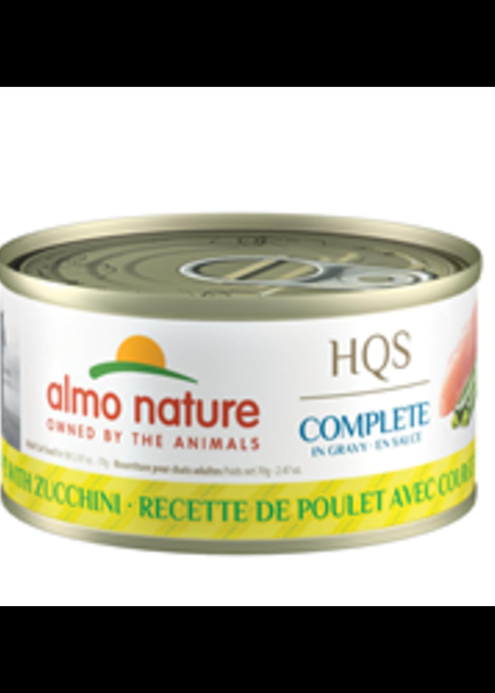 Almo Nature© Almo Nature HQS Complete Chicken Recipe with Zucchini in Gravy 70g