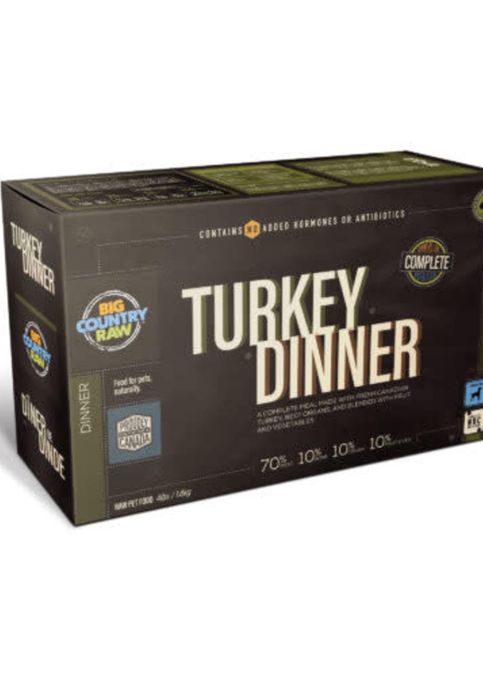 Big Country Raw Big Country Raw Turkey Dinner 4x1lb
