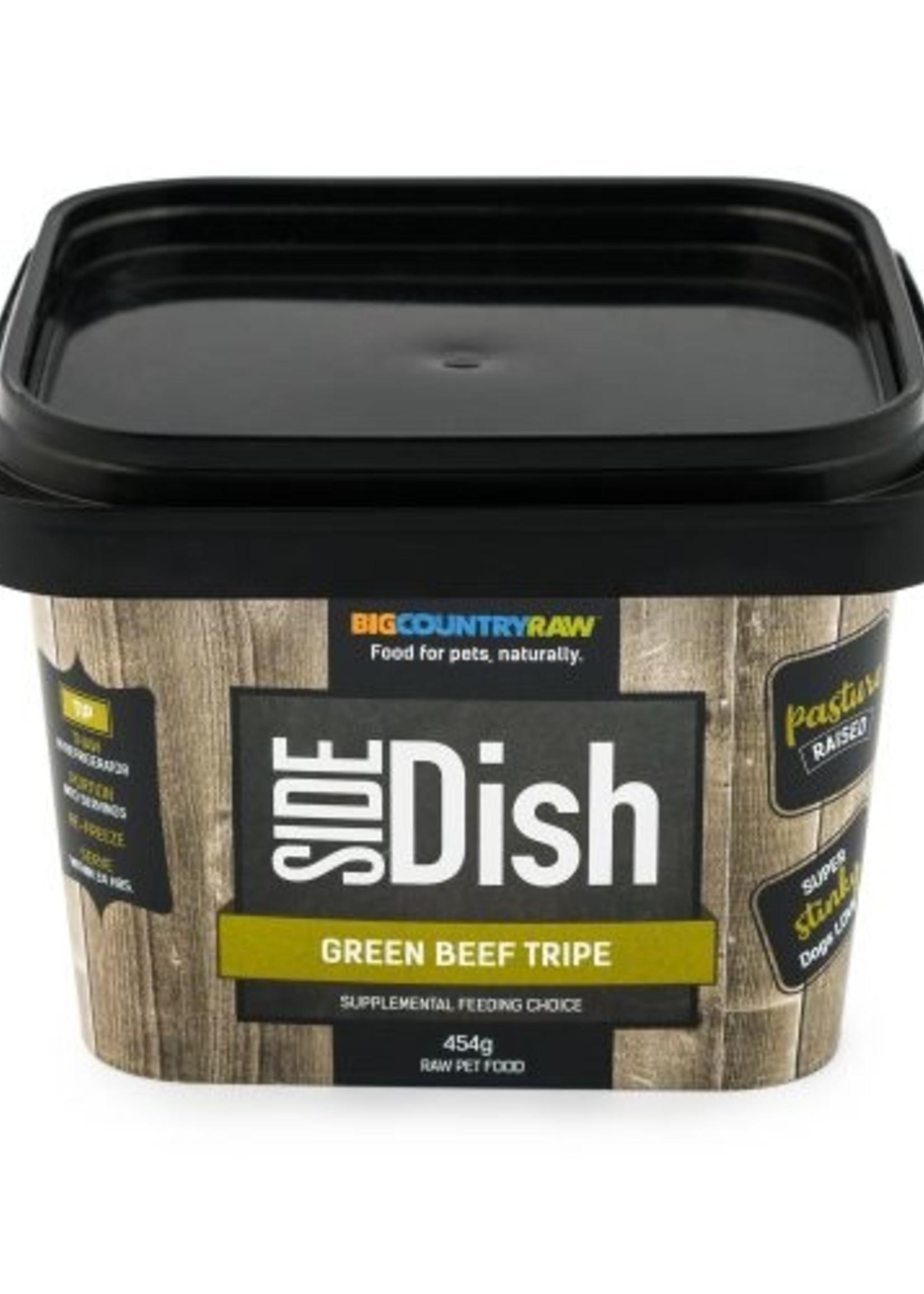 Big Country Raw Big Country Raw Side Dish Green Beef Tripe 1lb