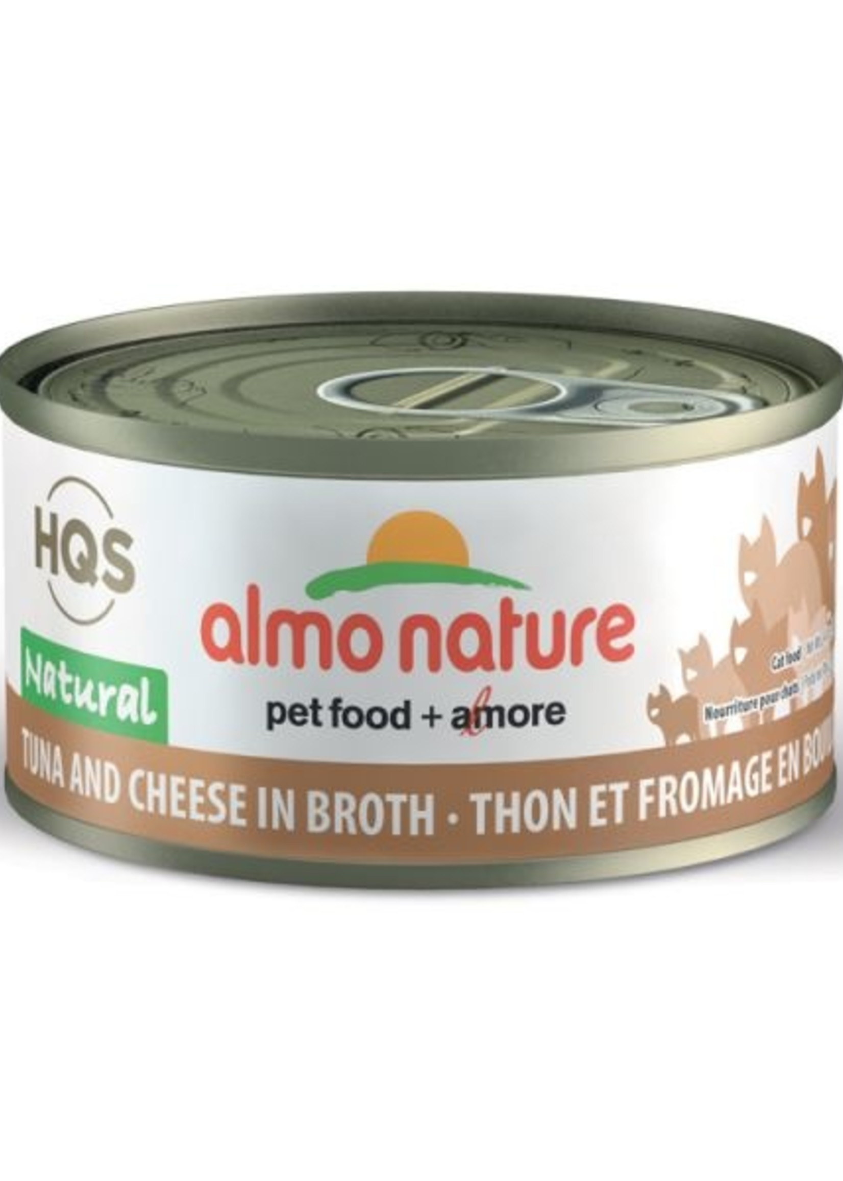 Almo Nature© Almo Nature HQS Natural Tuna and Cheese in Broth 70g