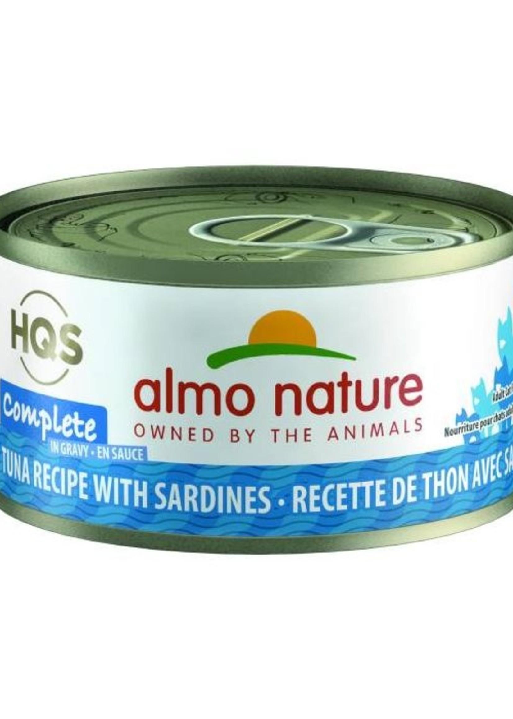 Almo Nature© Almo Nature HQS Complete Tuna Recipe with Sardines in Gravy 70g