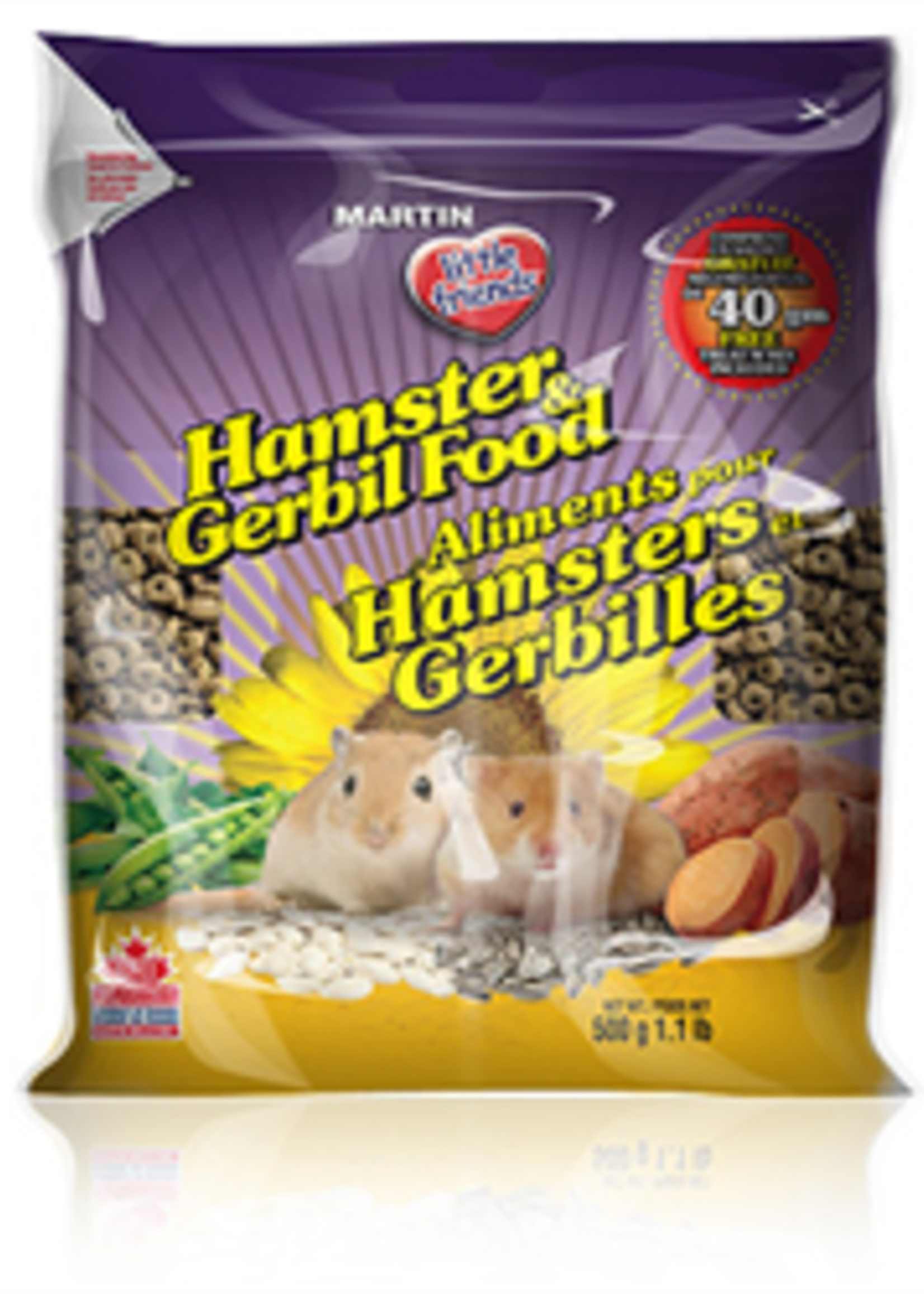 Martin little friends™ Martin little friends™  Hamster & Gerbil Food 500g