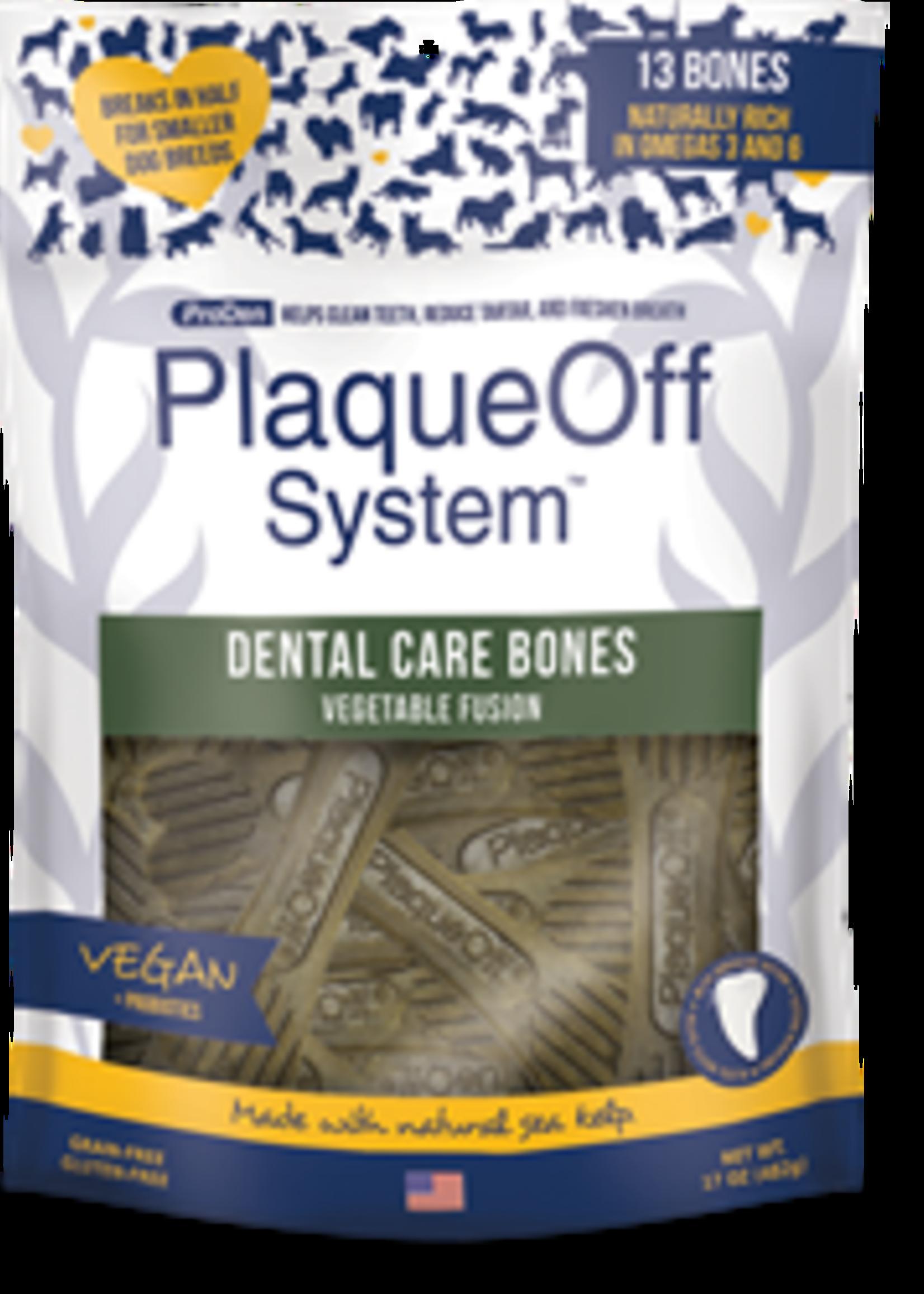 ProDen PlaqueOff® PLAQUE OFF SYSTEM DENTAL CARE  BONES VEGETABLE FUSION 17oz