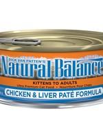 NATURAL BALANCE CHICKEN & LIVER PATE 5.5oz