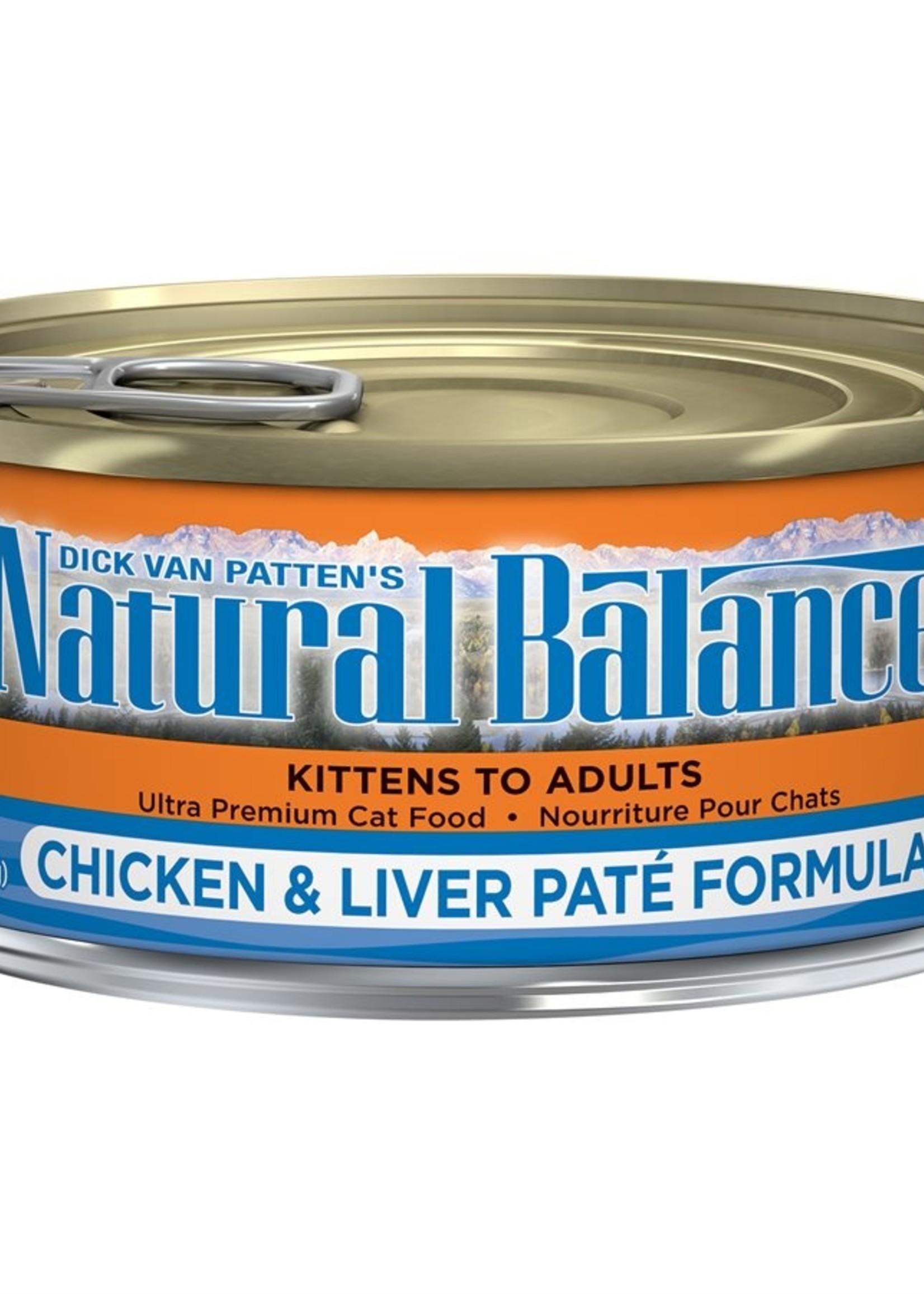 Natural Balance® Natural Balance Chicken & Liver Pâté Formula 5.5oz