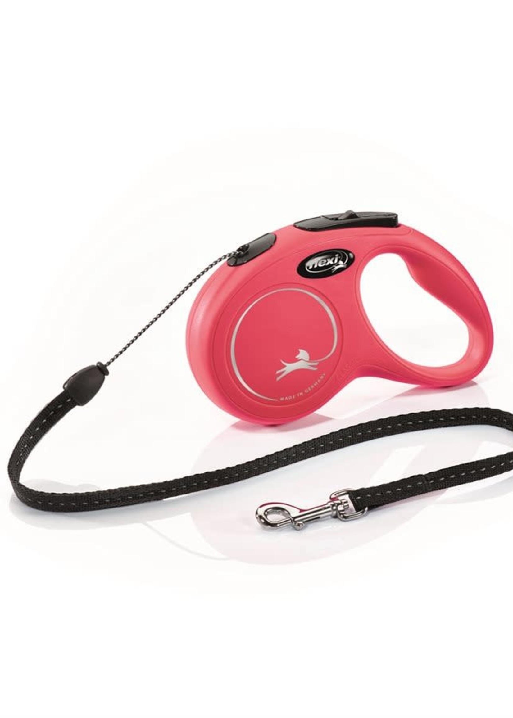 Flexi® FLEXI RETRACTABLE LEASH CLASSIC CORD 5m RED Small