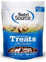 NUTRI SOURCE TENDER TREATS CHICKEN 6oz
