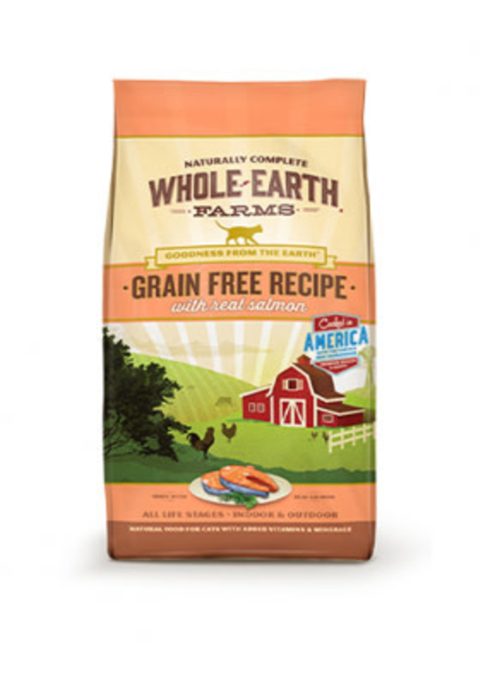 Whole Earth Farms™ Whole Earth Farms Grain Free Recipe with Real Salmon 10lbs