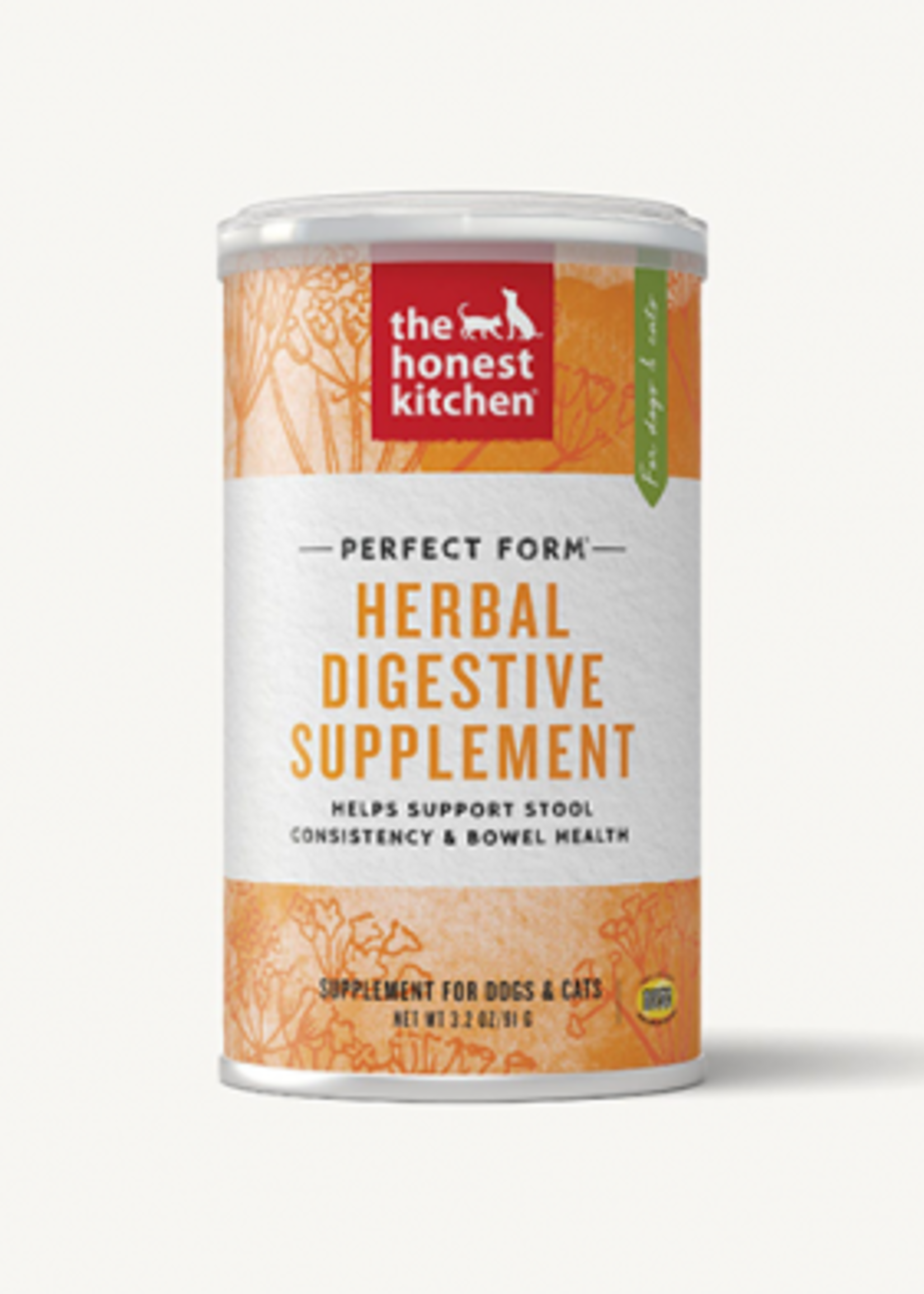 The Honest Kitchen® Honest Kitchen Perfect Form® Herbal Digestive Supplement 3.2 oz