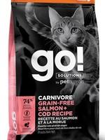Go! Solutions™ GO! CARNIVORE CAT G.F. SALMON&COD 8lbs