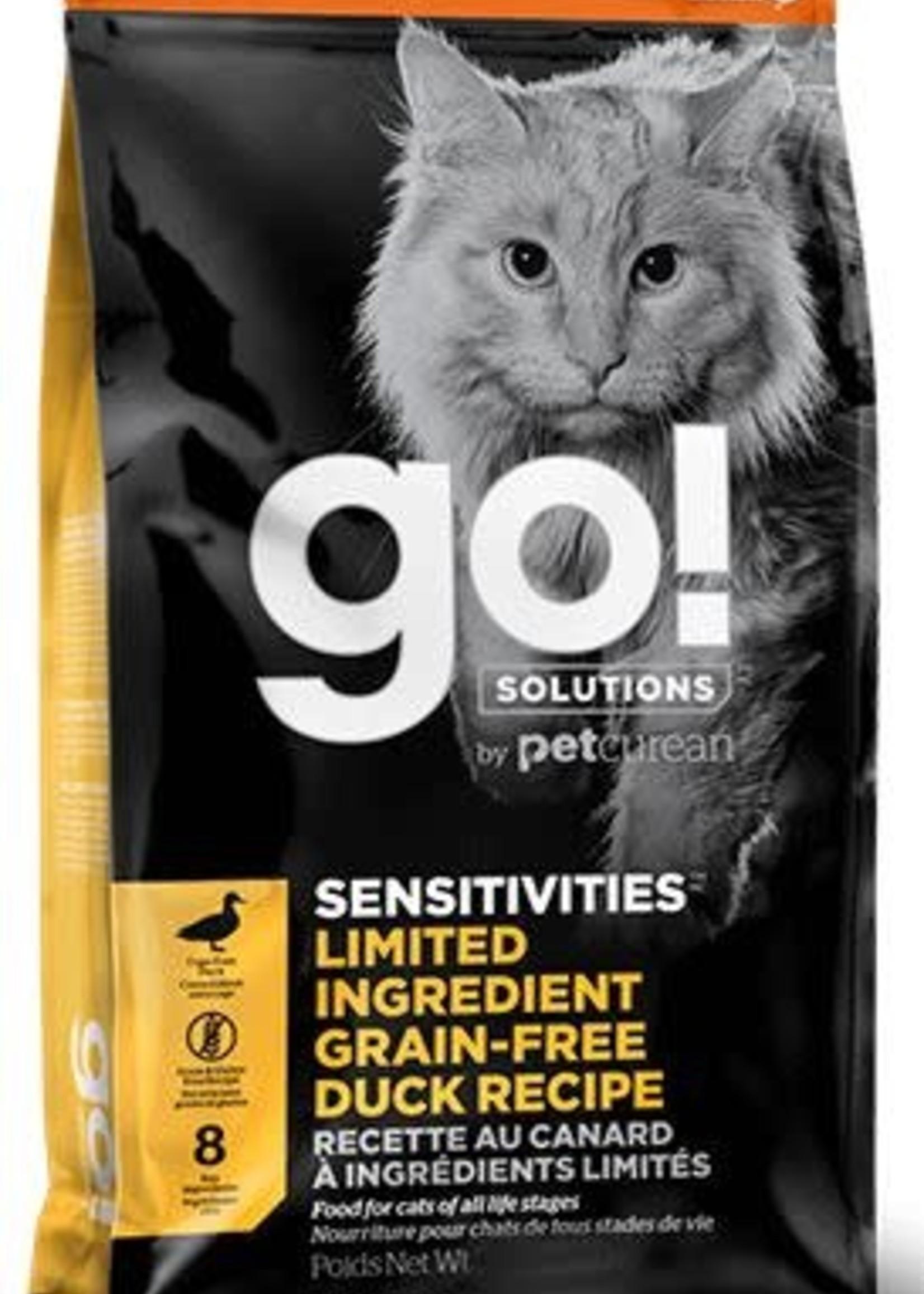 Go! Solutions™ GO! CAT SENSITIVITIES LID GF DUCK 16lbs