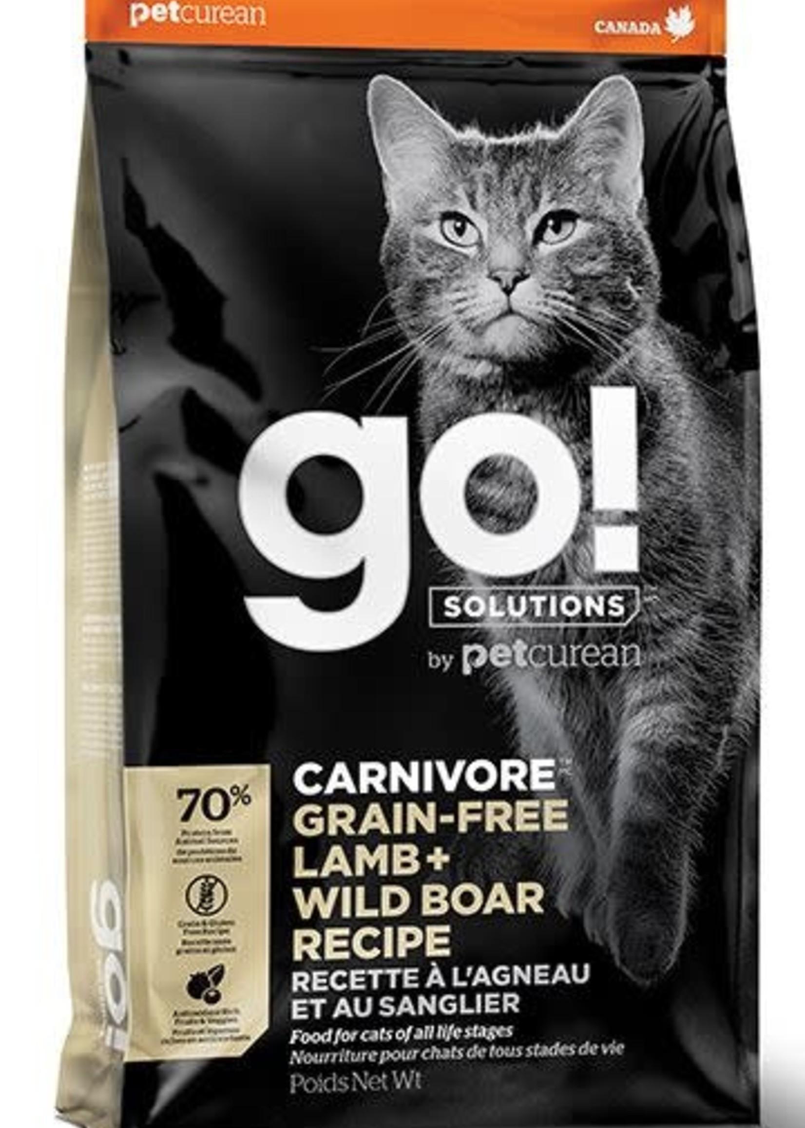Go! Solutions™ GO! CARNIVORE CAT G.F. LAMB&WILD BOAR 16lbs