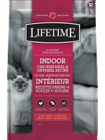 LIFETIME CAT INDOOR CHICKEN MEAL&OATMEAL 14lbs