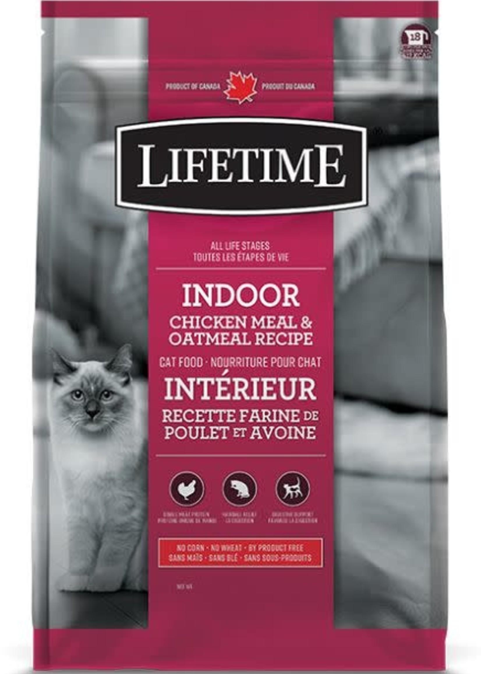 LifeTime® LifeTime Indoor Chicken Meal & Oatmeal Recipe 14lbs