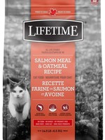 LIFETIME CAT SALMON&OATMEAL 14lbs