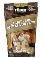 HeroDogTreats™ Dehydrated Rabbit Ears 65g