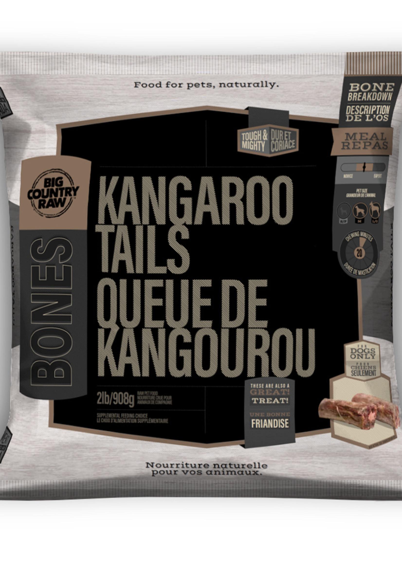 Big Country Raw Big Country Raw Kangaroo Tails 2lbs