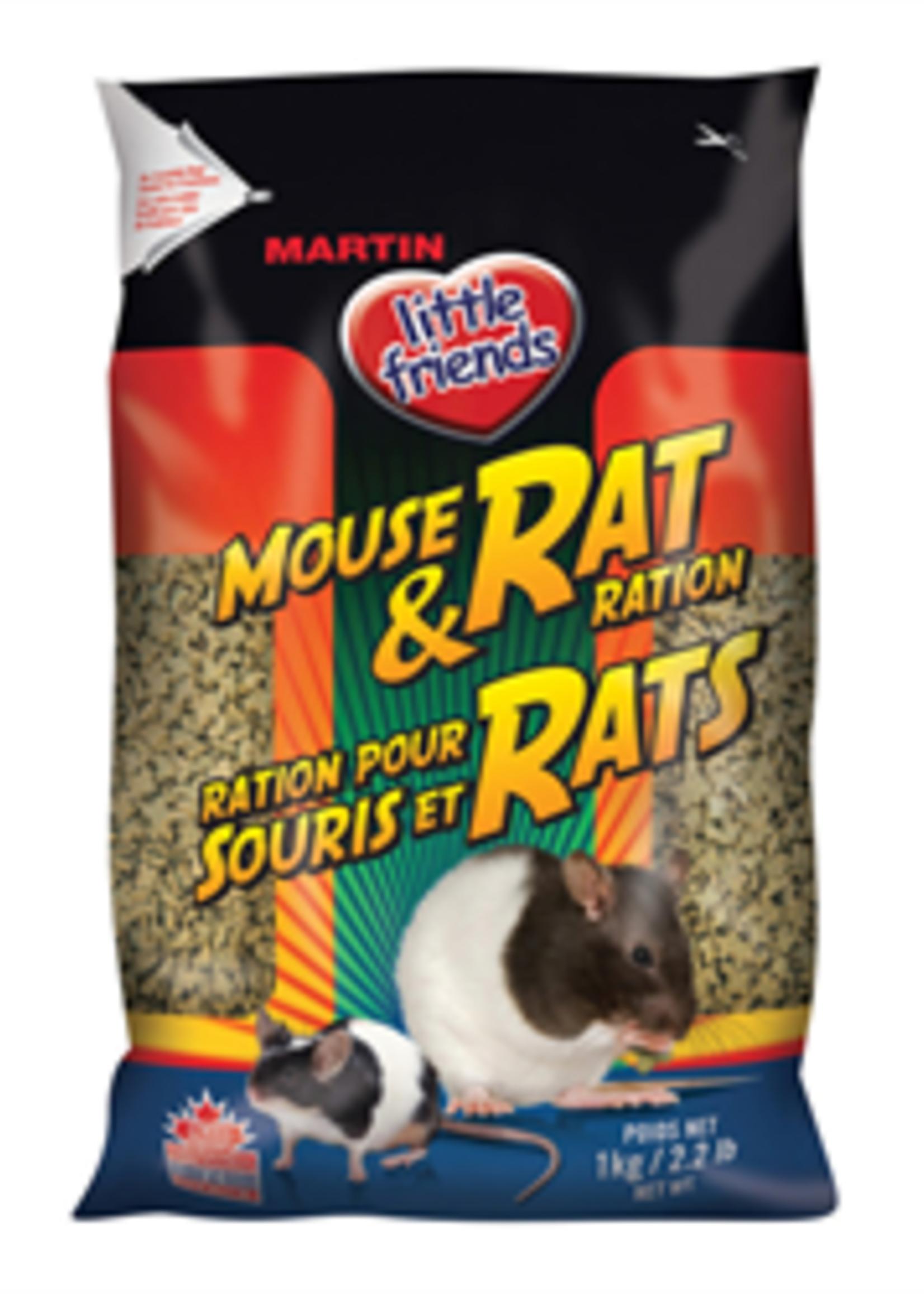 Martin little friends™ MARTIN LITTLE FRIENDS MOUSE & RAT RATION 1kG
