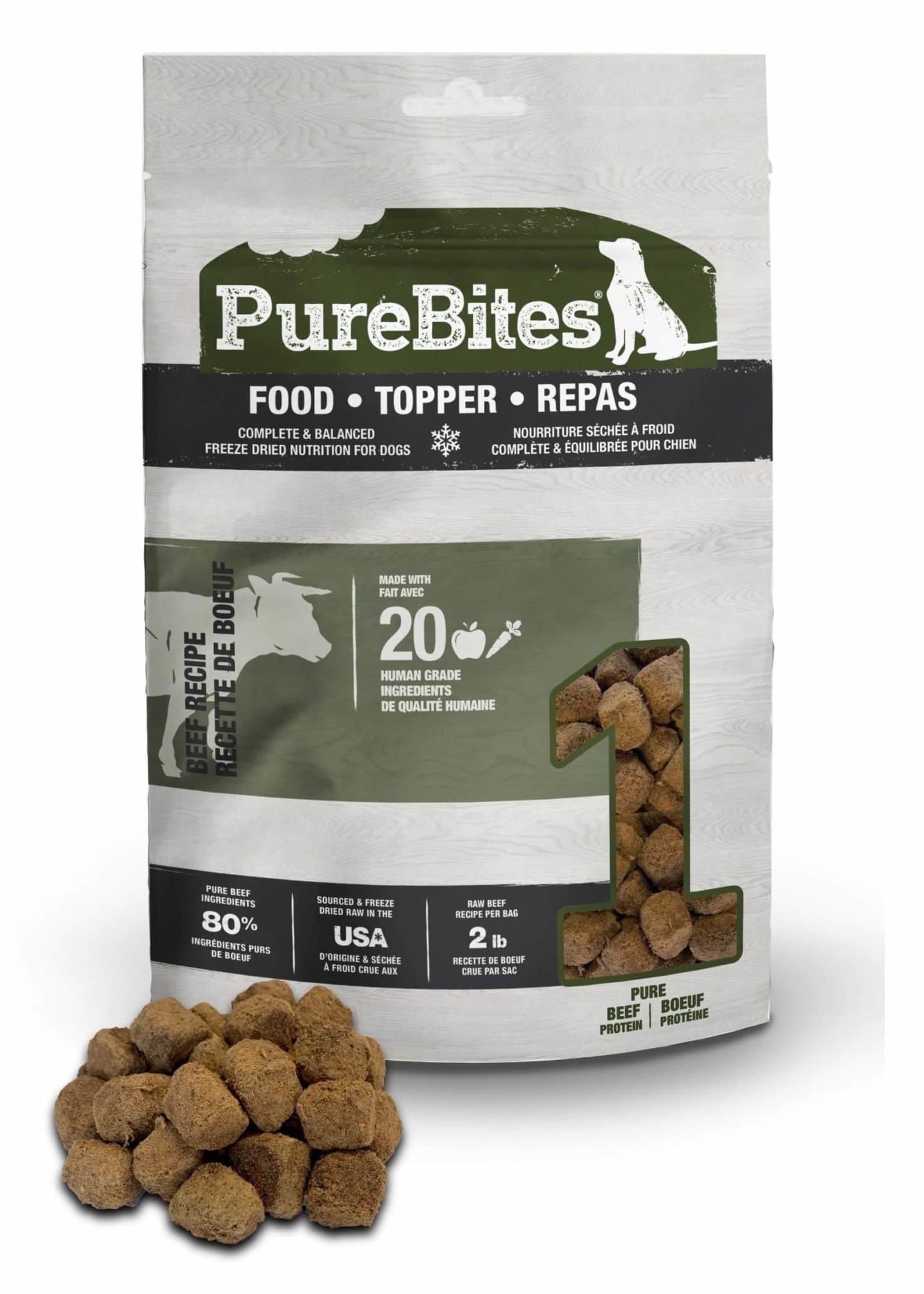 PureBites® PureBites Food Topper Beef 3oz