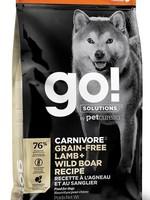 Go! Solutions™ GO! DOG GF LAMB & WILD BOAR 22lbs