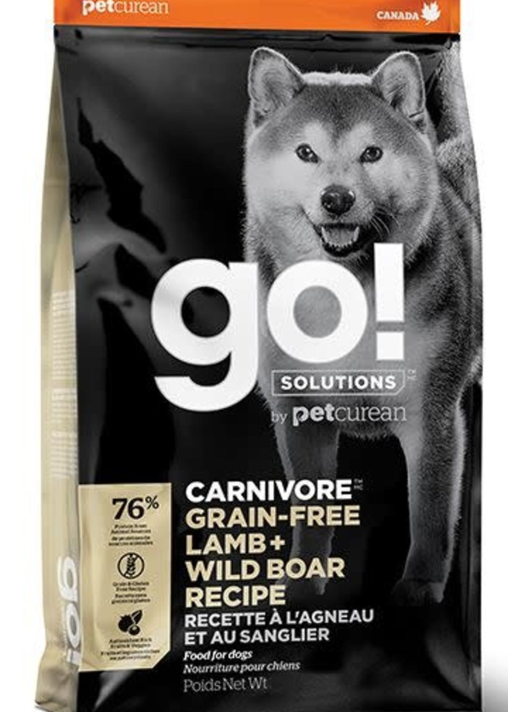 Go! Solutions™ Go! Solutions™ Carnivore™ Lamb + Wild Boar Recipe 22lbs