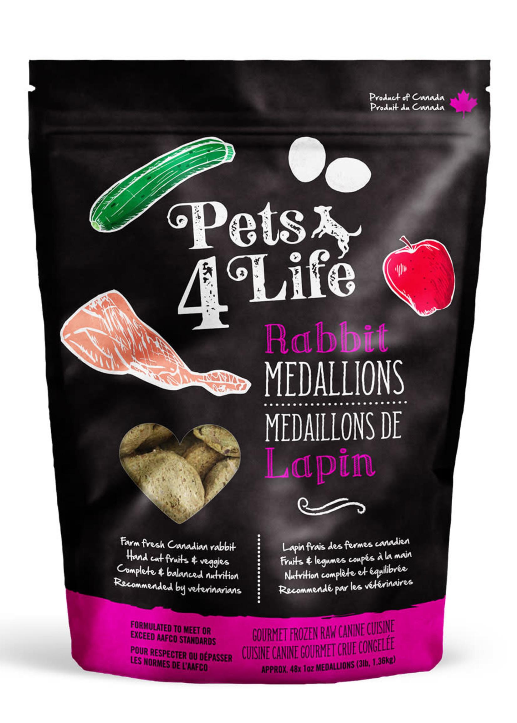 Pets4Life Pets4Life Rabbit Medallions 3lbs