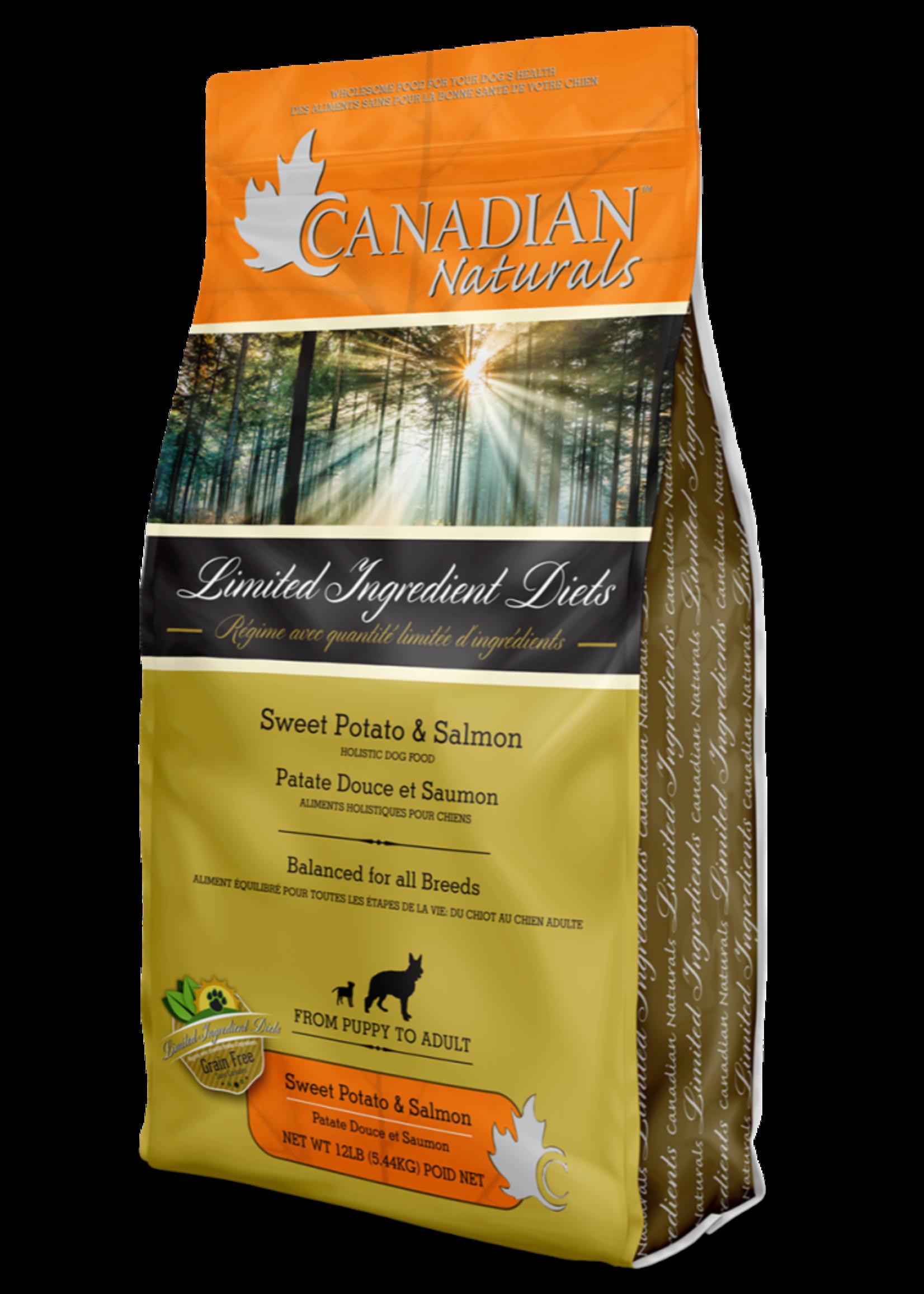 Canadian Naturals® Canadian Naturals L.I.D. Sweet Potato & Salmon Recipe 25lbs