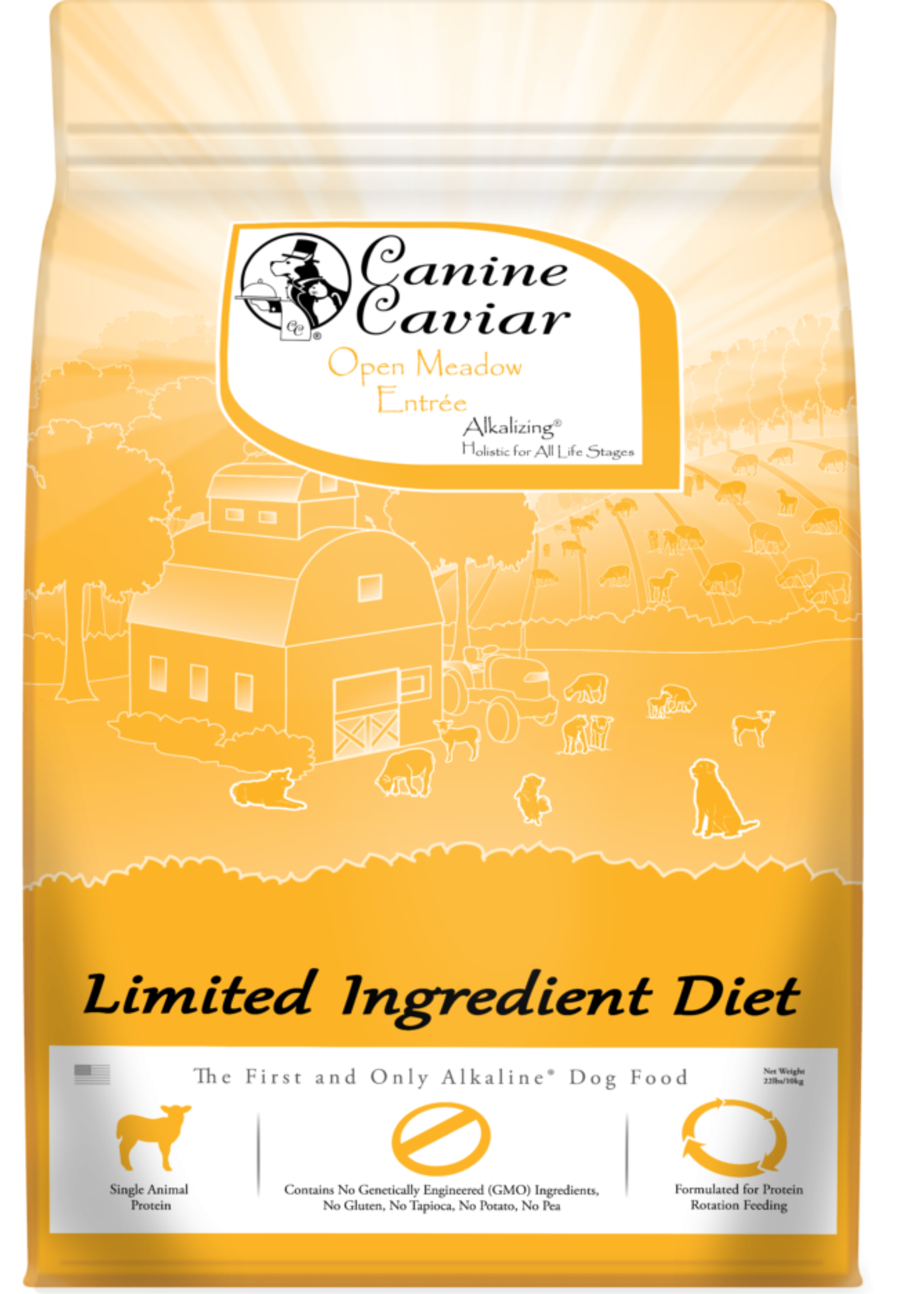 Canine Caviar Canine Caviar Open Meadow L.I.D. Alkaline Holistic Entree 11lbs