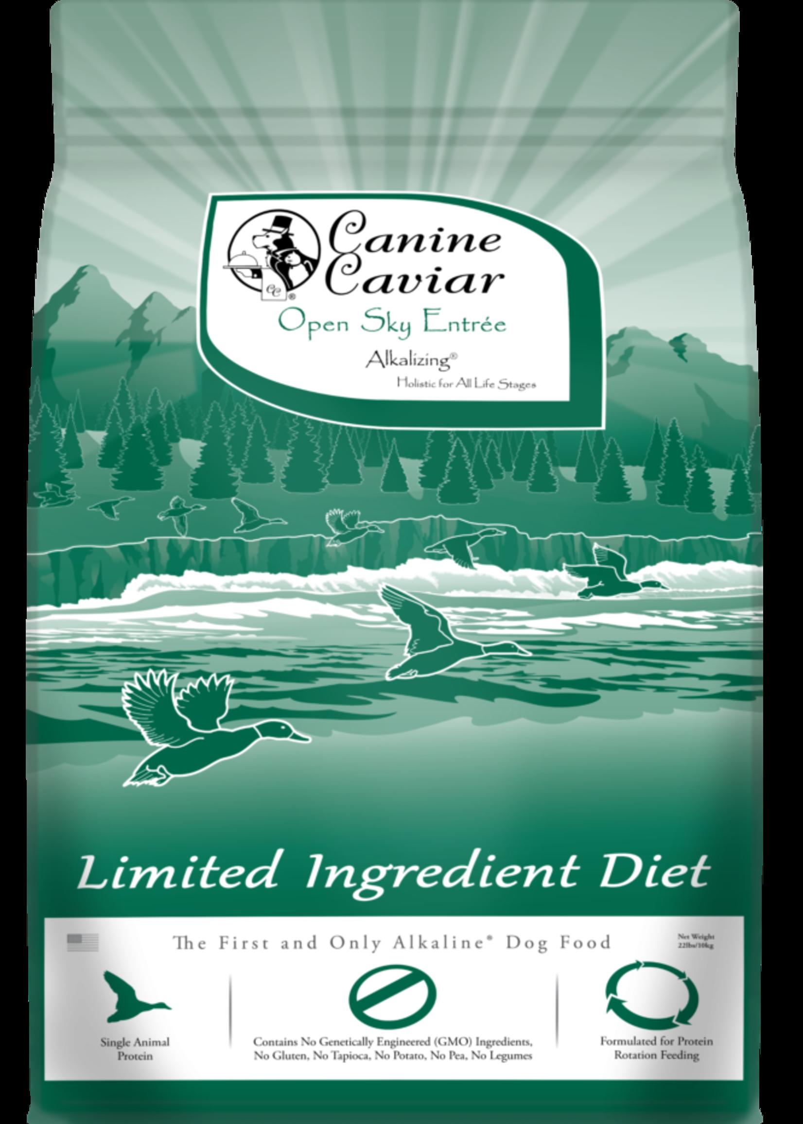 Canine Caviar Canine Caviar Open Sky L.I.D. Alkaline Holistic Entree 11lbs