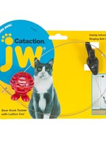 JW® Cataction® Door Knob Teaser with Lattice Cuz®