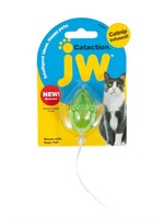 jW JW CAT TOY RUBBER MOUSE WITH BELL