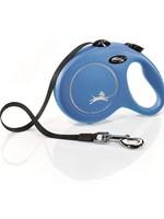 Flexi® FLEXI RETRACTABLE LEASH CLASSIC TAPE 5m LRG BLUE