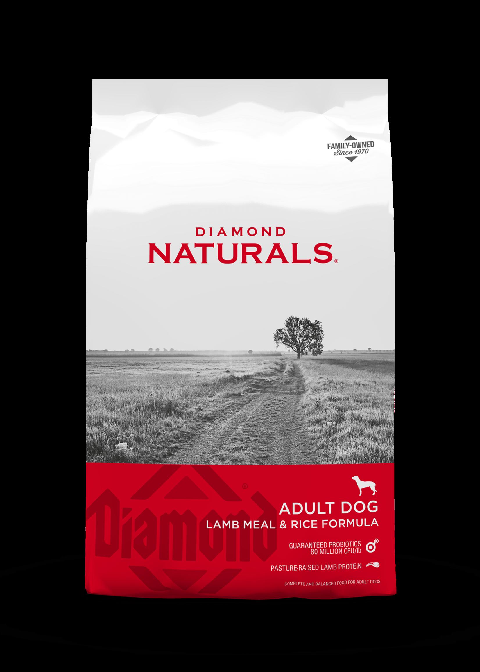 Diamond Naturals® Diamond Naturals Adult Lamb Meal & Rice Formula 40lbs