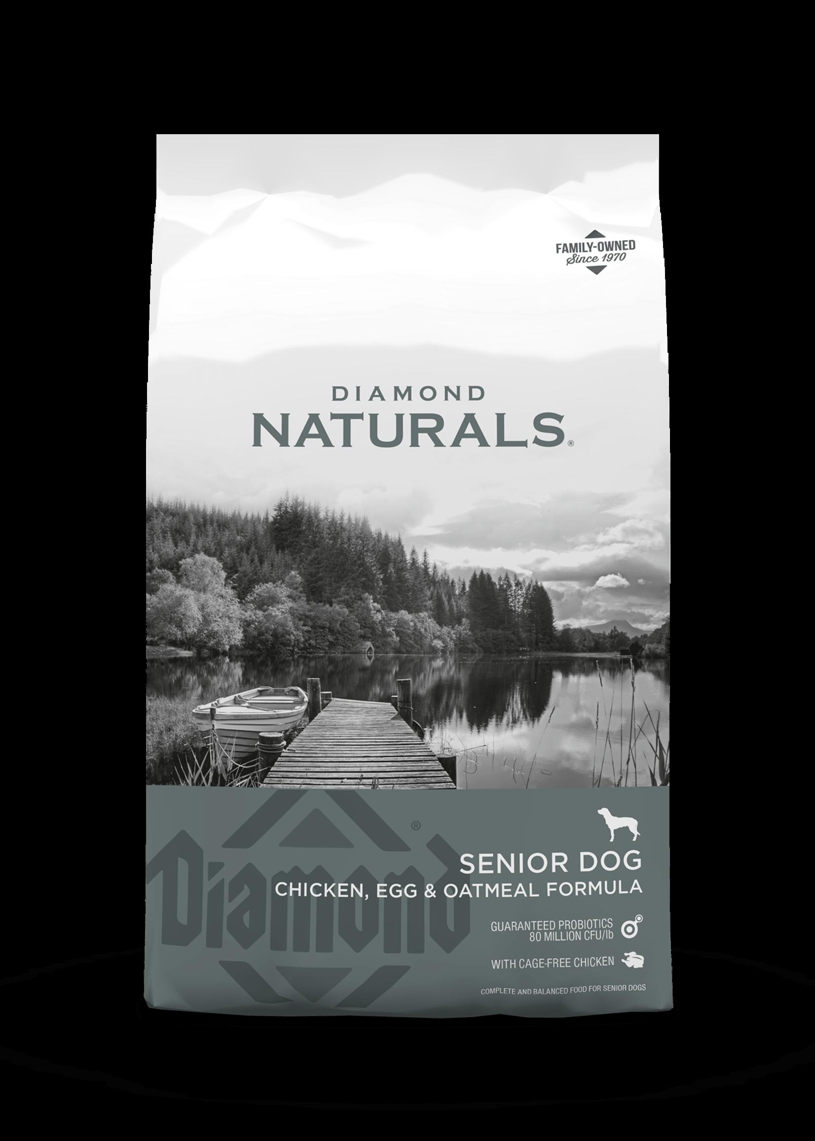 Diamond Naturals® Diamond Naturals Senior Chicken, Egg & Oatmeal Formula 35lbs