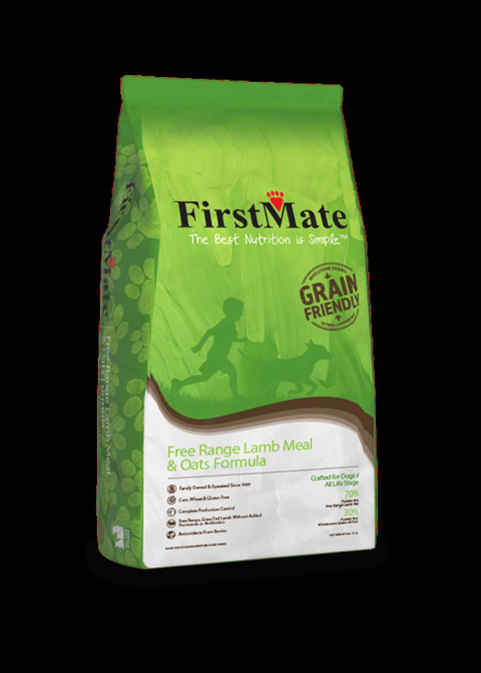 FirstMate FirstMate Free Range Lamb Meal & Oats Formula 5lbs