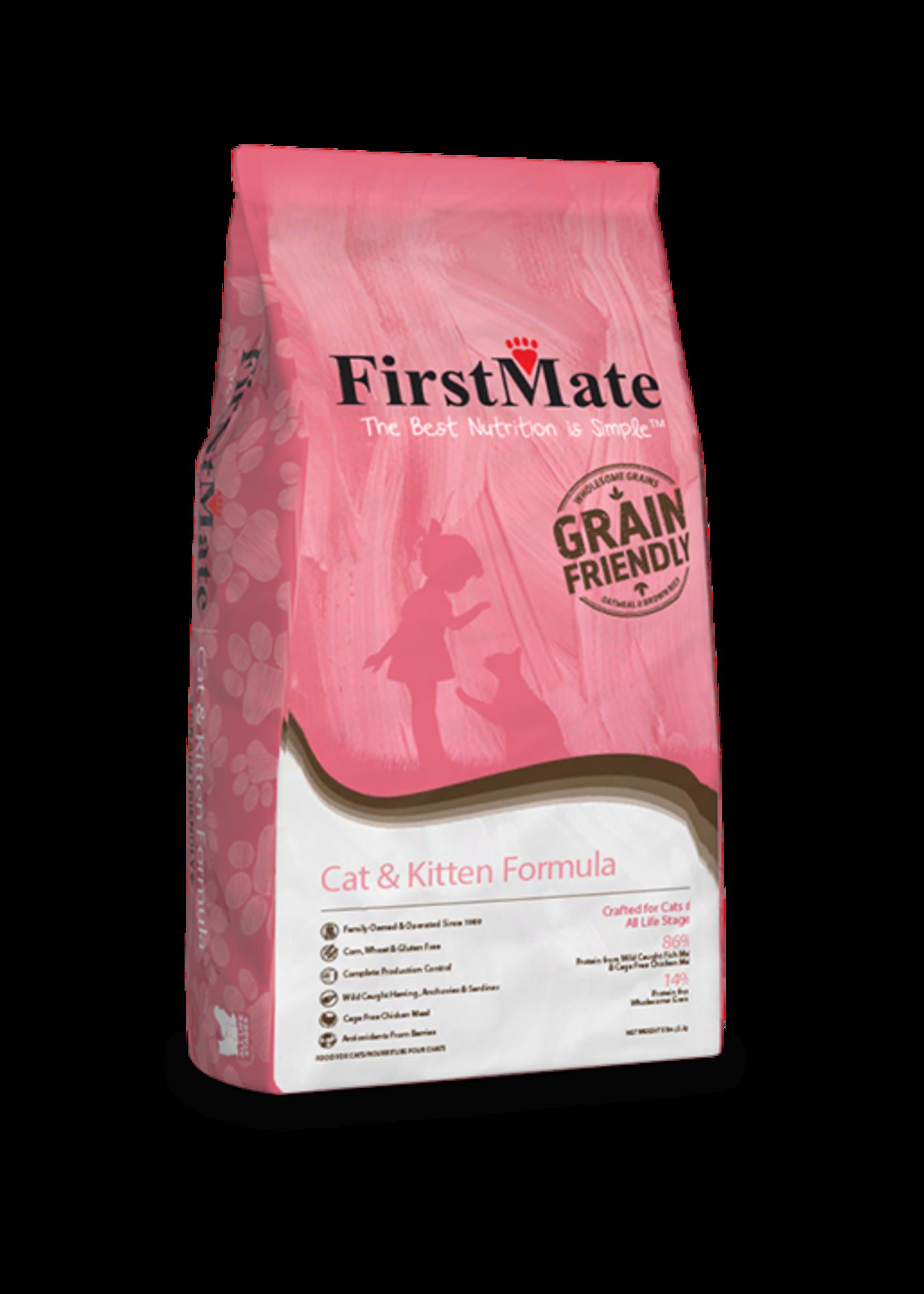 FirstMate FirstMate Cat & Kitten Formula 5lbs