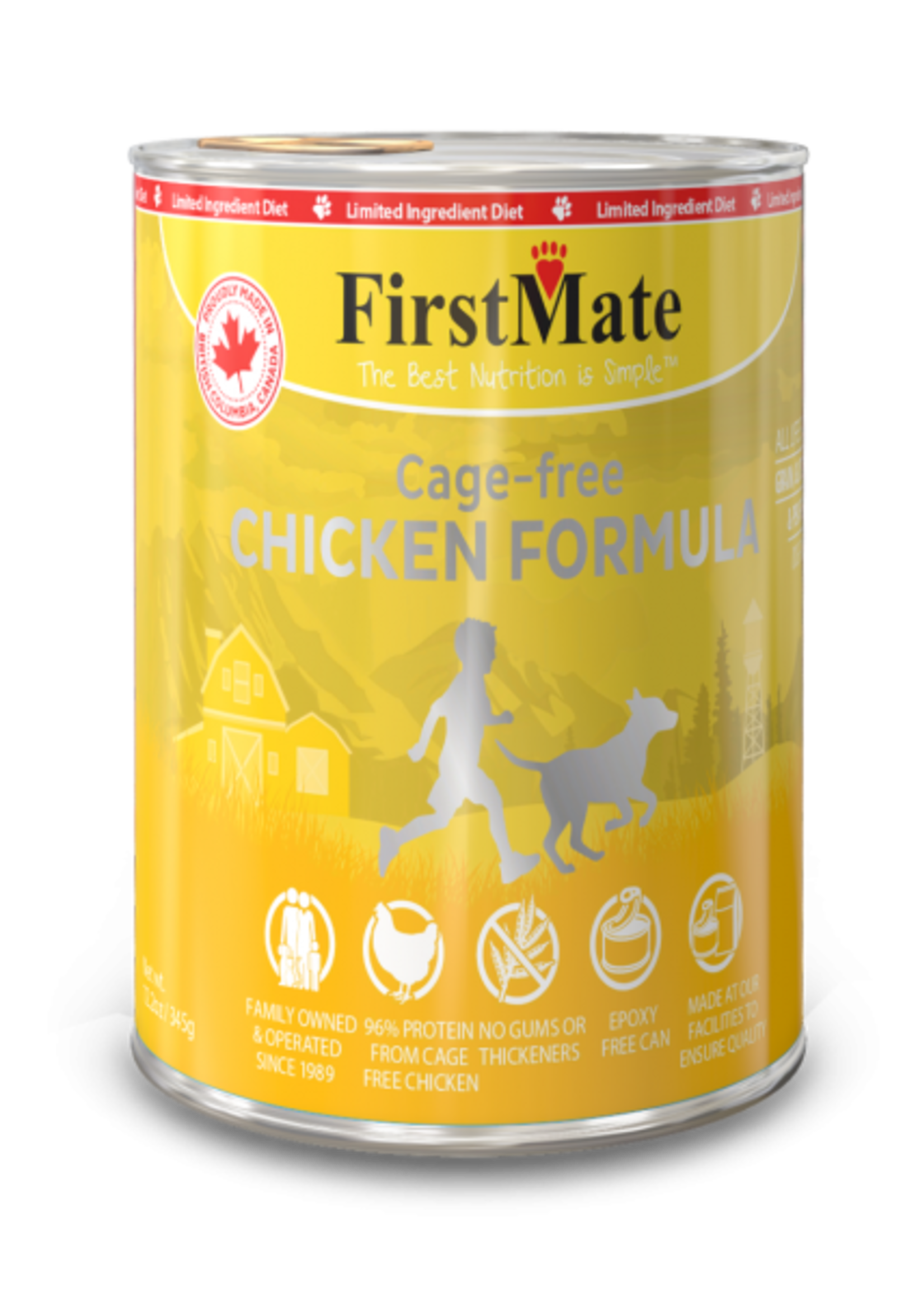 FirstMate FirstMate Limited Ingredient Cage Free Chicken Formula 12oz
