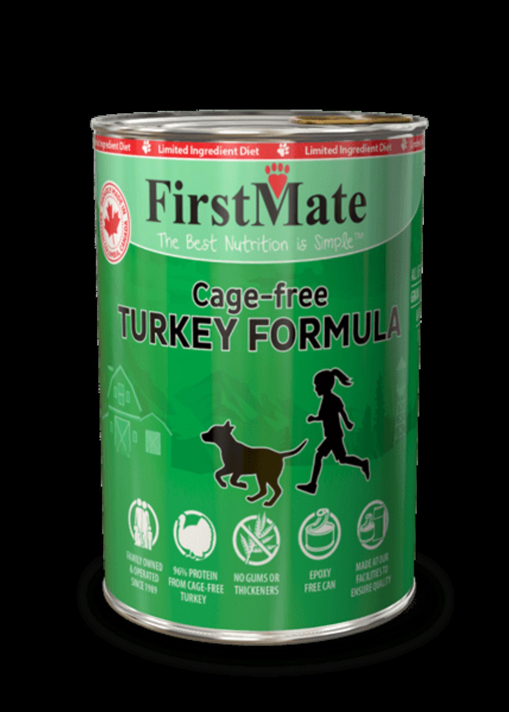 FirstMate FirstMate Limited Ingredient Cage Free Turkey Formula 12oz