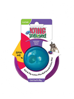 KONG KONG CAT GYRO TREAT TOY INFUSED WITH CATNIP