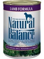Natural Balance® Original Lamb Formula 13oz