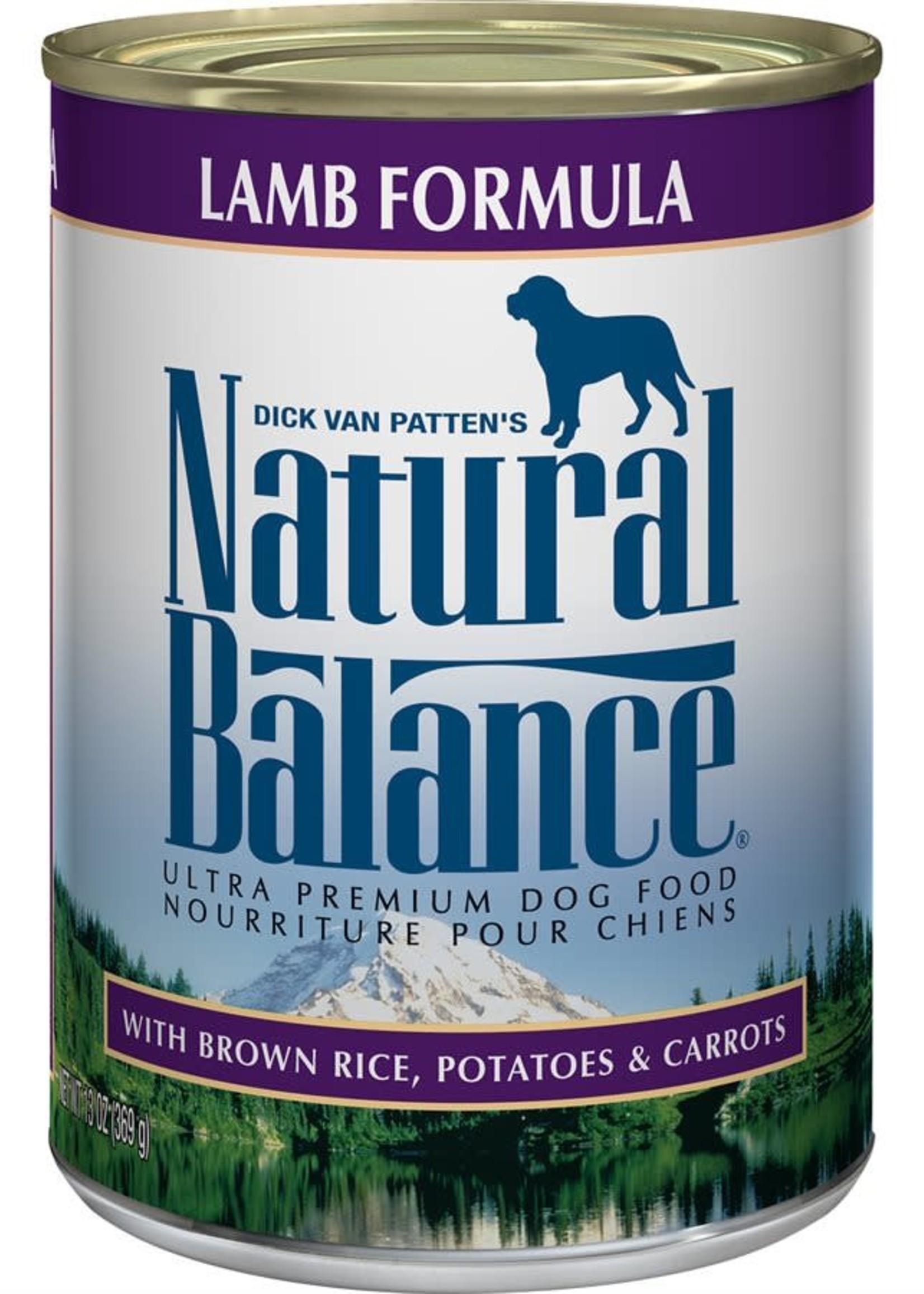Natural Balance® Natural Balance Ultra Premium Lamb Formula with Brown Rice, Potatoes & Carrots 13oz