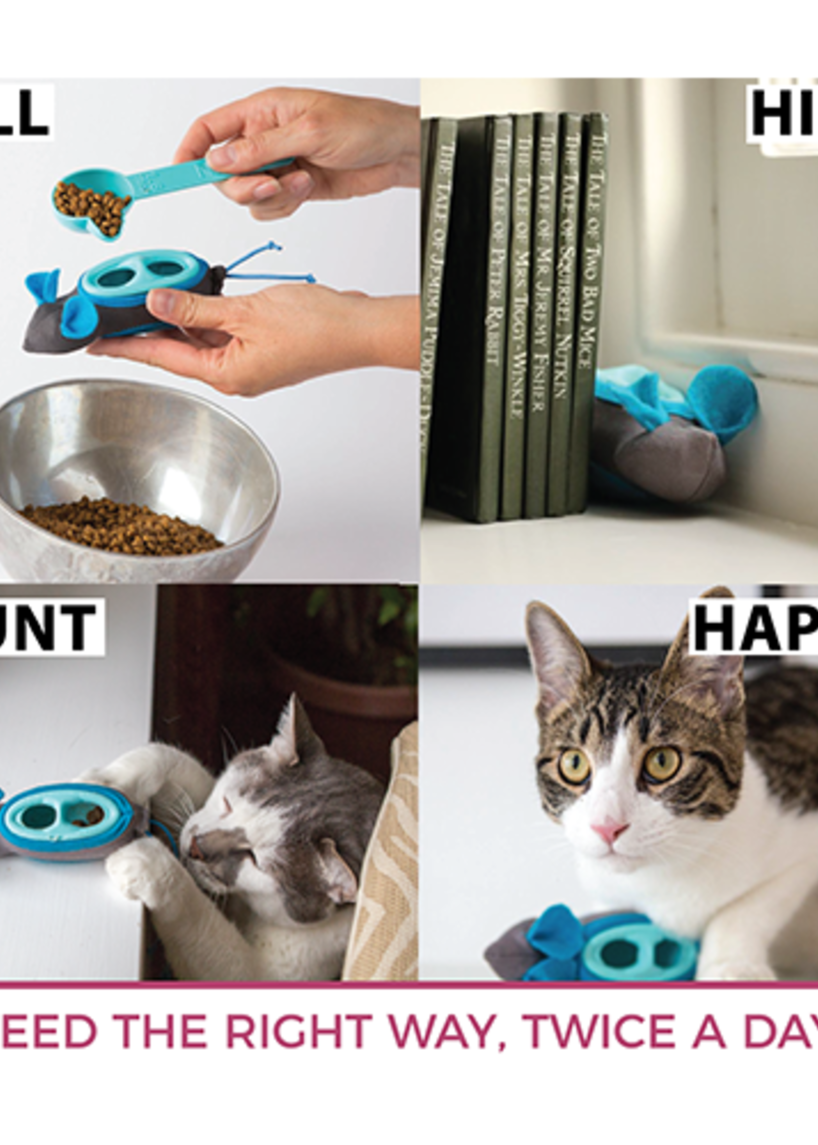 Spot® The Hunting Feeder (slow feeder for cats)