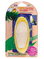 Penn-Plax® BIRD LIFE 2-in-1 CUTTLEBONE BANANA FLAVOR