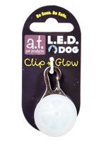 Animal Treasures LED Clip n' Glow Tag - White