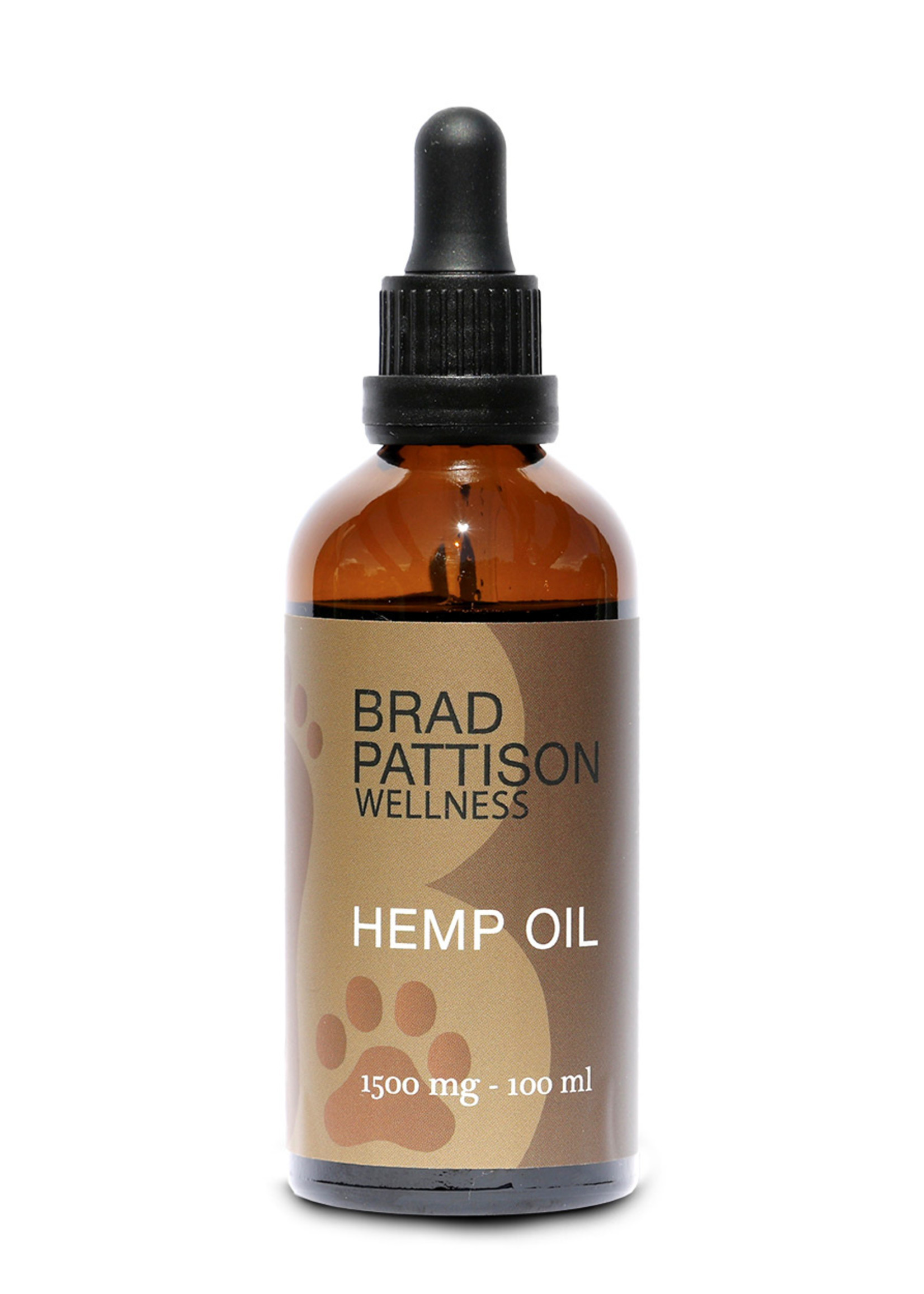 Brad Pattison Wellness Brad Pattison Wellness Hemp Oil for Pets 1500mg/100mL