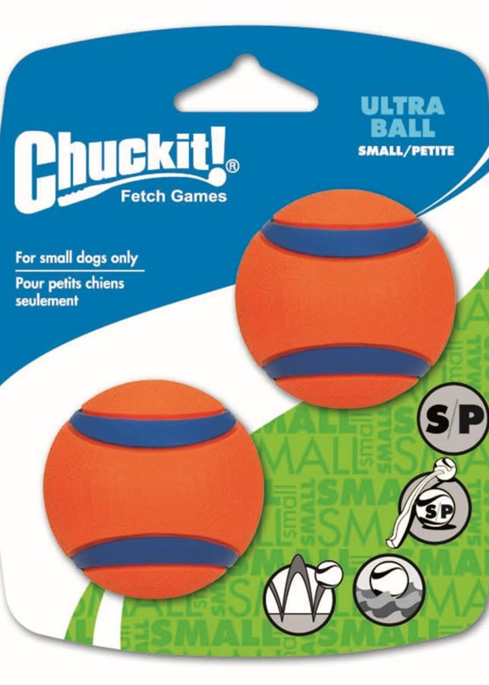 Chuckit!® CHUCK IT!  ULTRA BALL SM 2pk