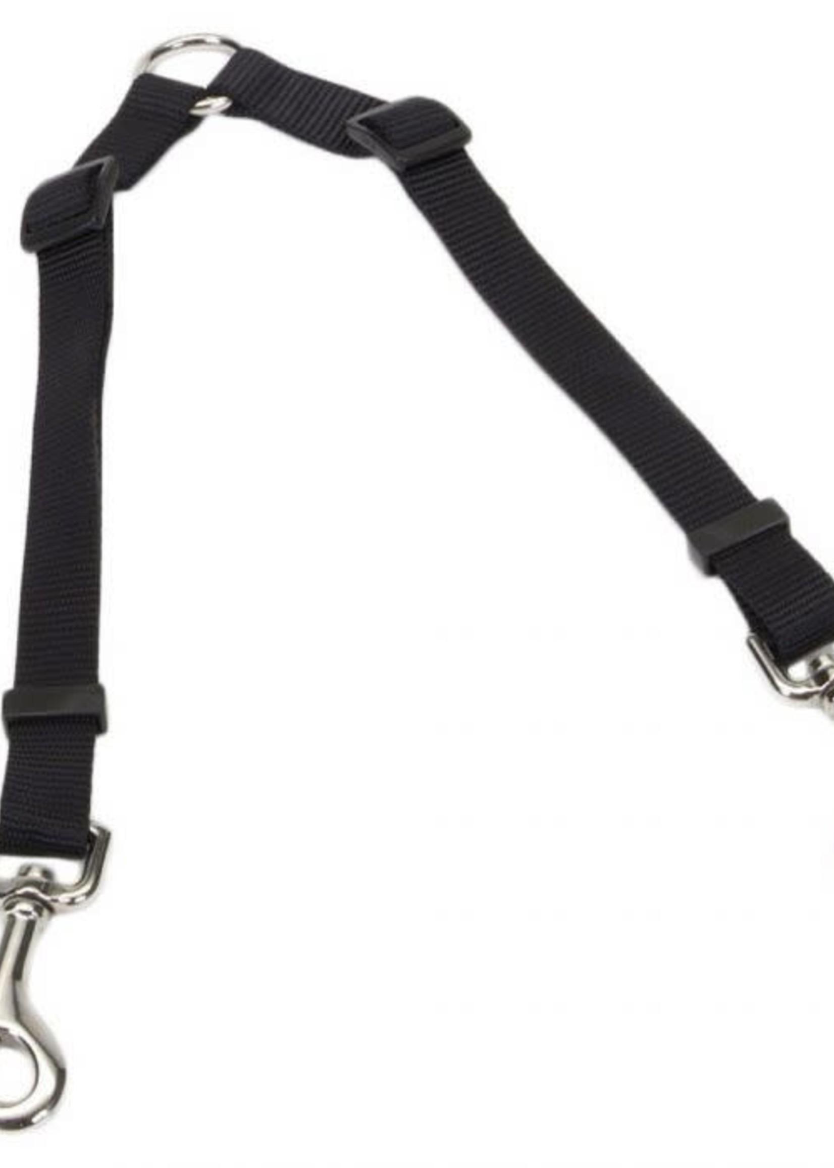"""Coastal® 2 Dog Adjustable Coupler 3/4"""" x 24-36"""""""