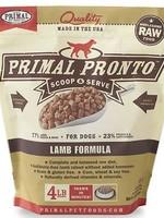 Primal Pet Foods Inc.™ Raw Frozen Pronto Lamb 4lbs