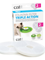 Catit® Fountain Filter Triple Action 2pk