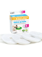Catit® Triple Action Fountain Filter 5pk